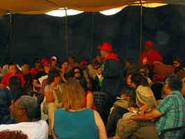 Pedro Franco de la AIH hace una sintesis de las actividades realizadas en Haiti