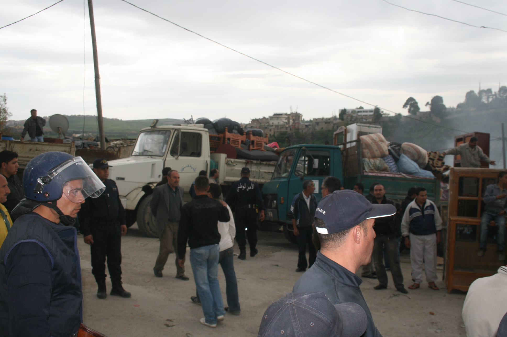 Algeria Sos Eviction Challenges The Authorities On