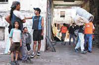 Buenos Aires, cuando el desalojo es express, ARGENTINA, enero 2011