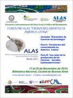 Buenos Aires, Encuentro Latinoamericano del Libro Social y Político del Bicentenario, ARGENTINA, noviembre 2010