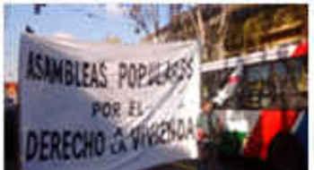 Buenos Aires, Marcha contra la política de desalojos: ¡Ni una familia, ni una persona mas en la calle!