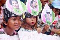 Cambodia, against evictions and in solidarity with BKL Housing Rights Defenders