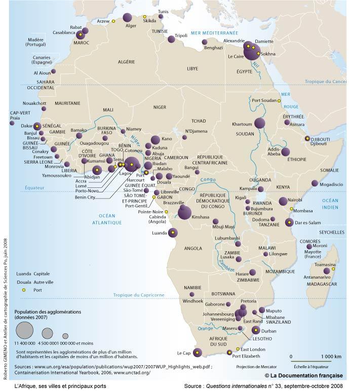 Trop d 39 africains ont comme id al la ville coloniale - Quel est le plus grand port d afrique ...