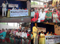 Mumbai, WHD: Rally, Memorandum and Joint Anti-Evictions Task Force announced