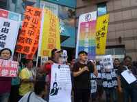 Taiwan, Kaohsiung Protests as forced evictions loom