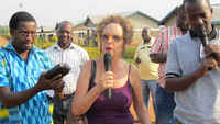 The UN Special Rapporteur on the right to adequate housing, Raquel Rolnik visit Rwanda