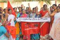 Zero Evictions Day in Hyderabad