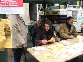 Charleroi: action surprise pour qu'avance vraiment le droit au logement
