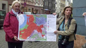 The map of urban renewal and gentrification (Duisburg, 26 04 2013)
