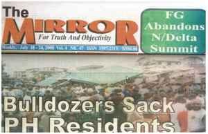 Zero evictions in Nigeria
