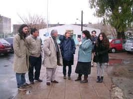 Barrio Ejercito de los Andes.Llegada delegaciòn