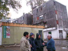 Barrio Ejercito de los Andes.Visita