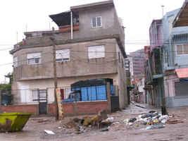 Visita al barrio Villa15 y al comedor Enhacore. Recorrida